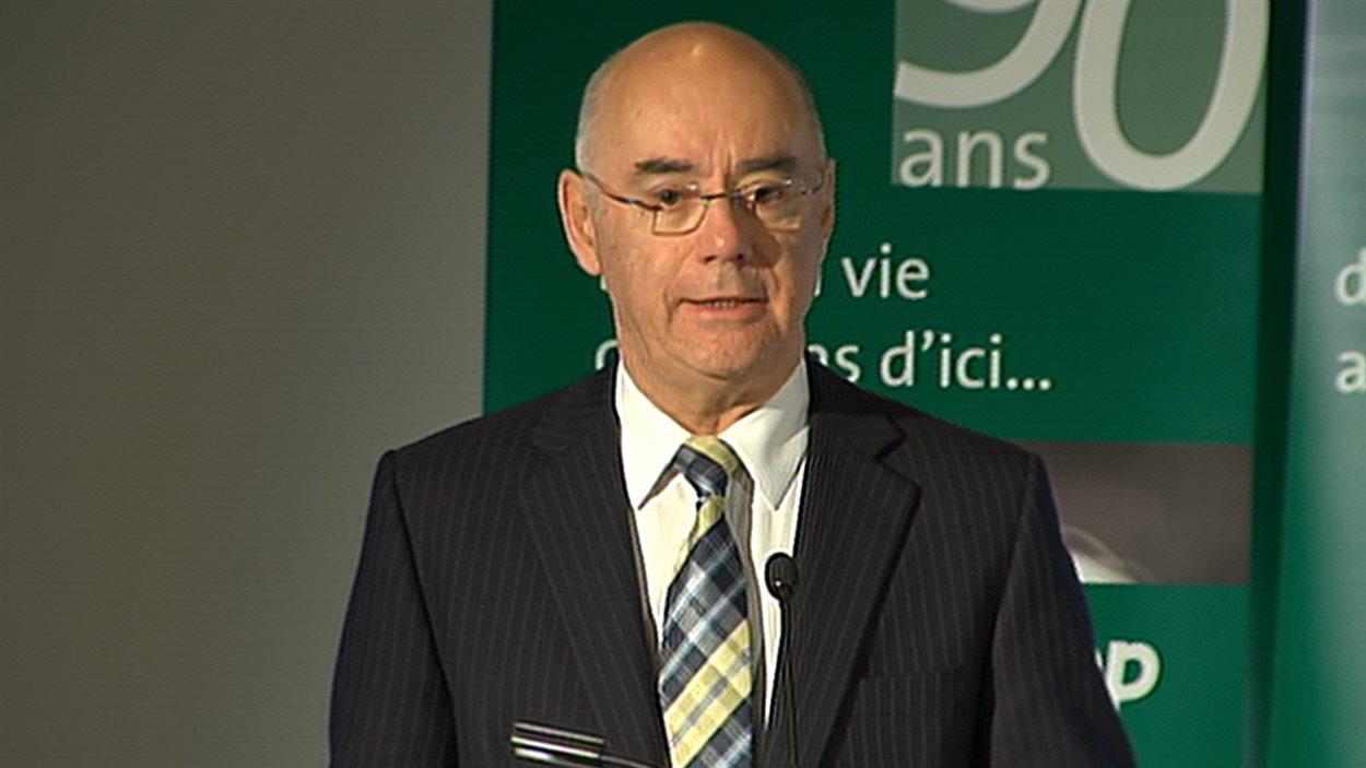 Jacques Daoust, président et chef de la direction d'Investissement Québec