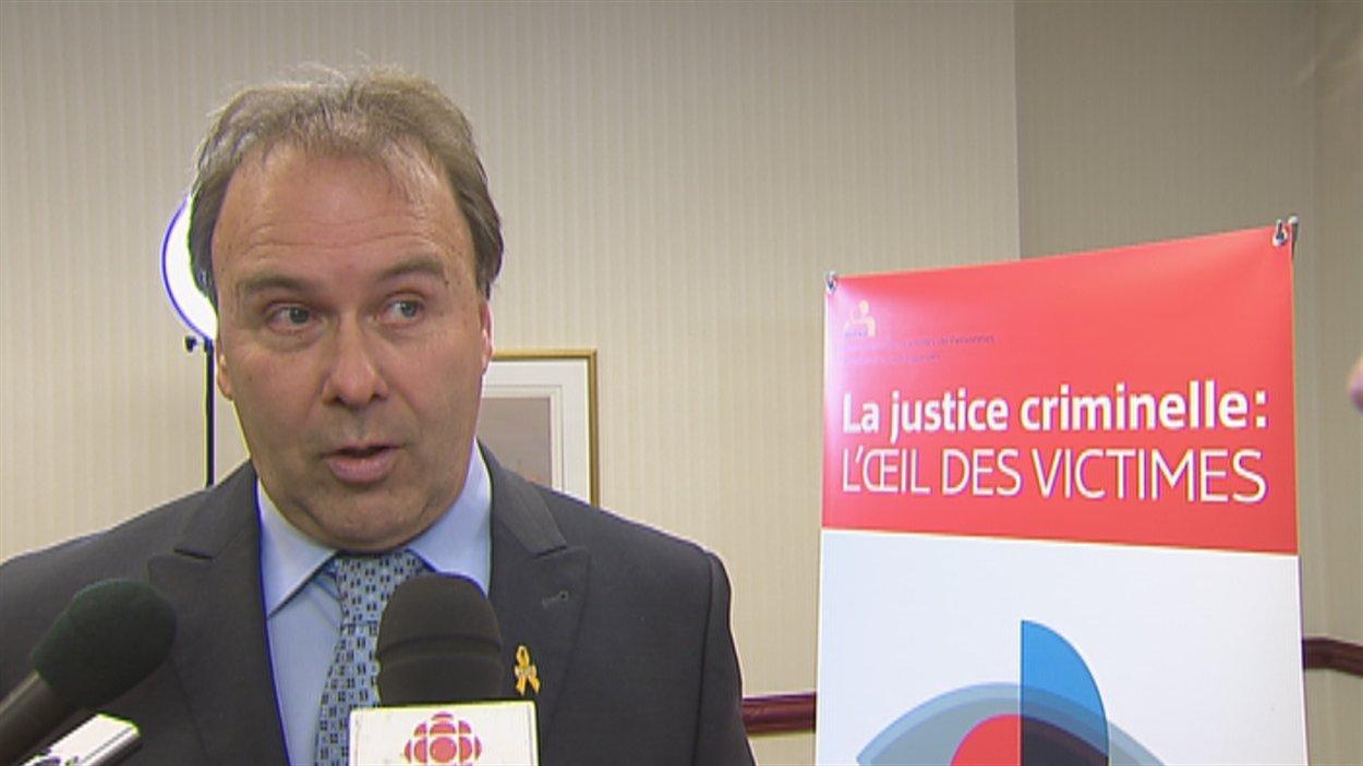 L'avocat et ex-ministre de la Justice Marc Bellemare
