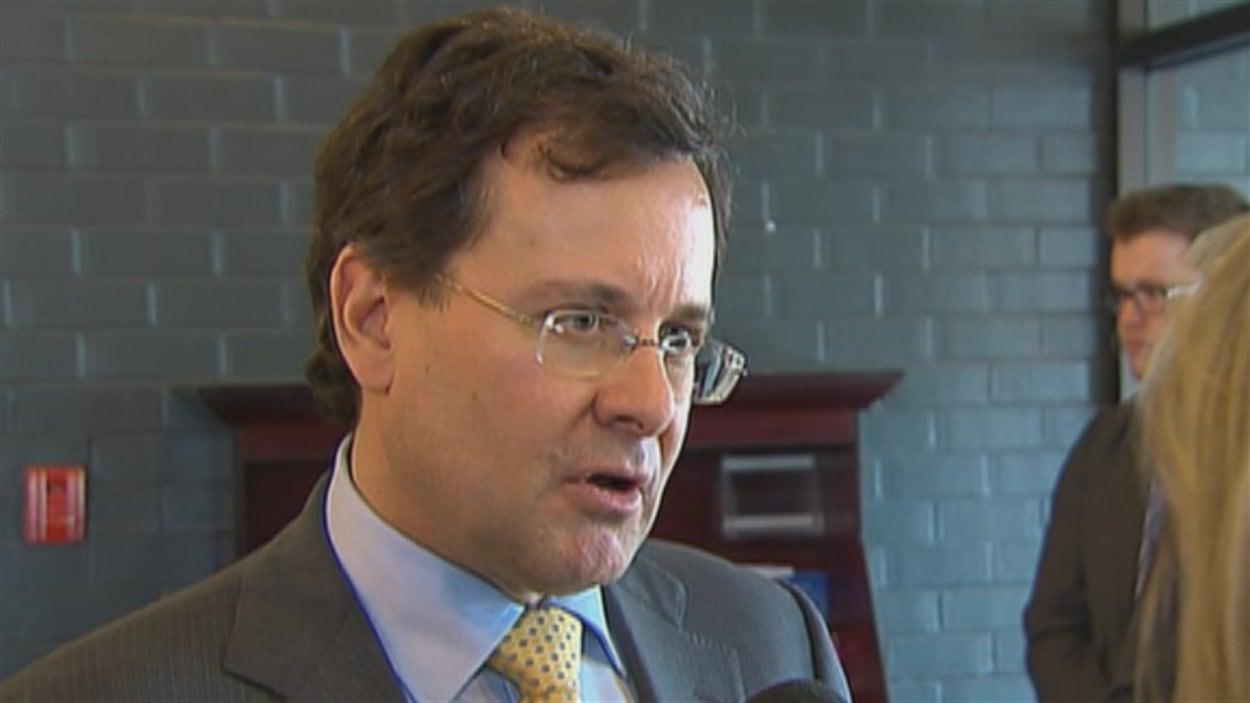 Le ministre de la Justice Bertrand Saint-Arnaud