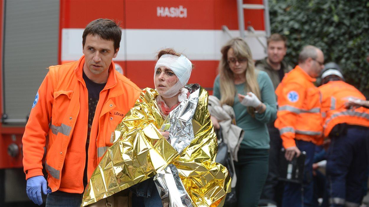 Une explosion a fait une quarantaine de blessés à Prague.