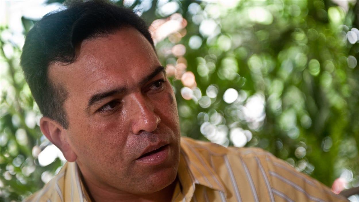 Un des leaders de l'opposition au Venezuela, le général à la retraite Antonio Rivero, en septembre 2010 à Caracas.