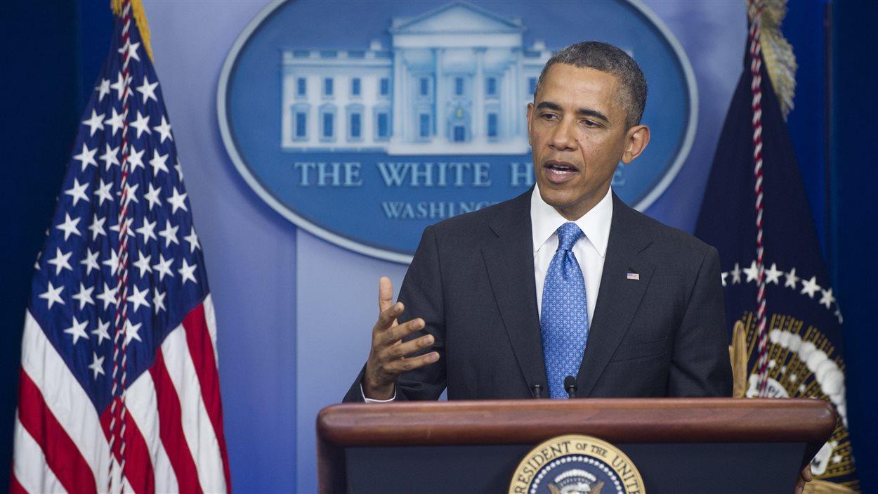 Le président Barack Obama fait le point après  100 jours de son second mandat.