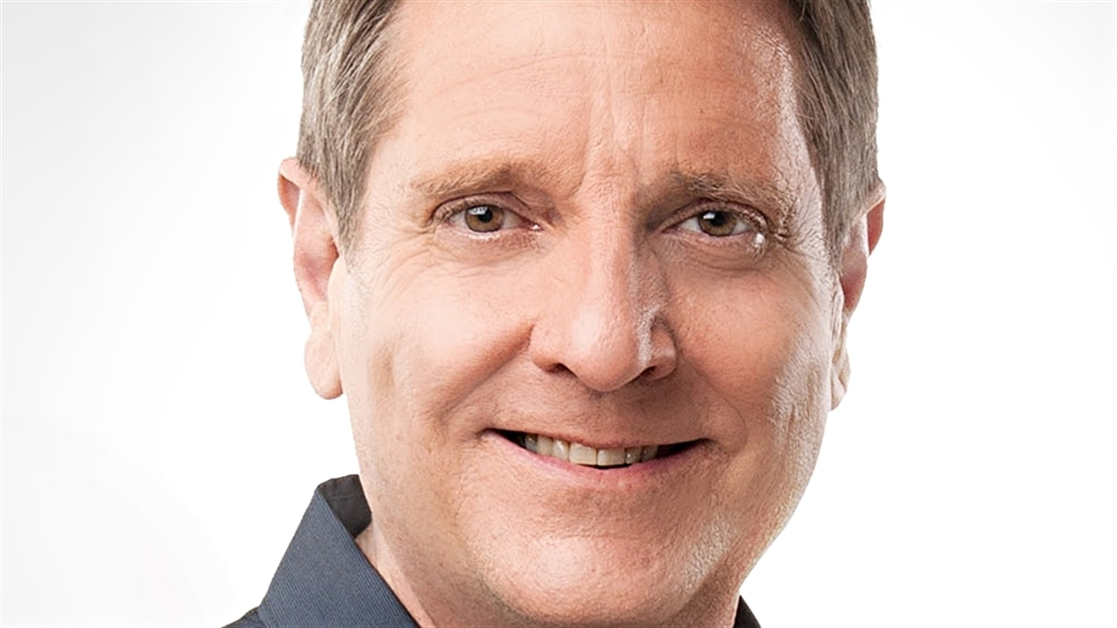 Michel Picard, chef d'antenne du Téléjournal Ottawa-Gatineau.