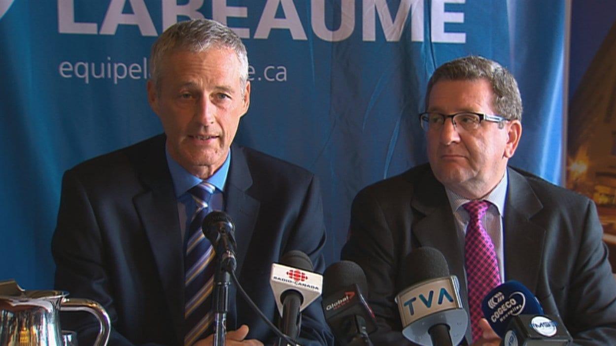 Richard Côté a annoncé mercredi qu'il quittait la vie politique.