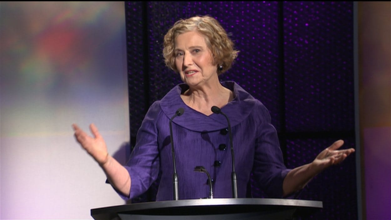 La chef du Parti vert, Jane Sterk.