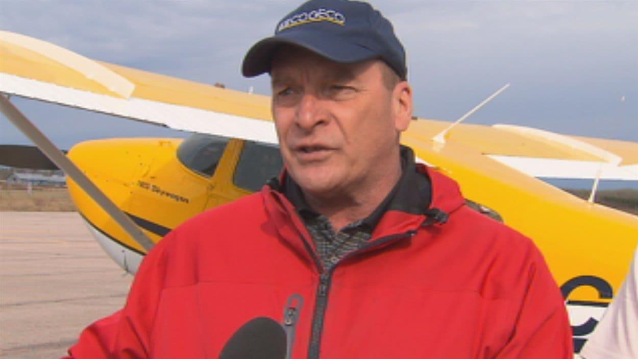 Guy Simard, celui qui annonce le départ des glaces sur le lac Saint-Jean