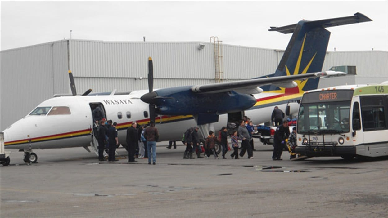 Thunder Bay a accueilli une centaine de sinistrés de Kashechewan.