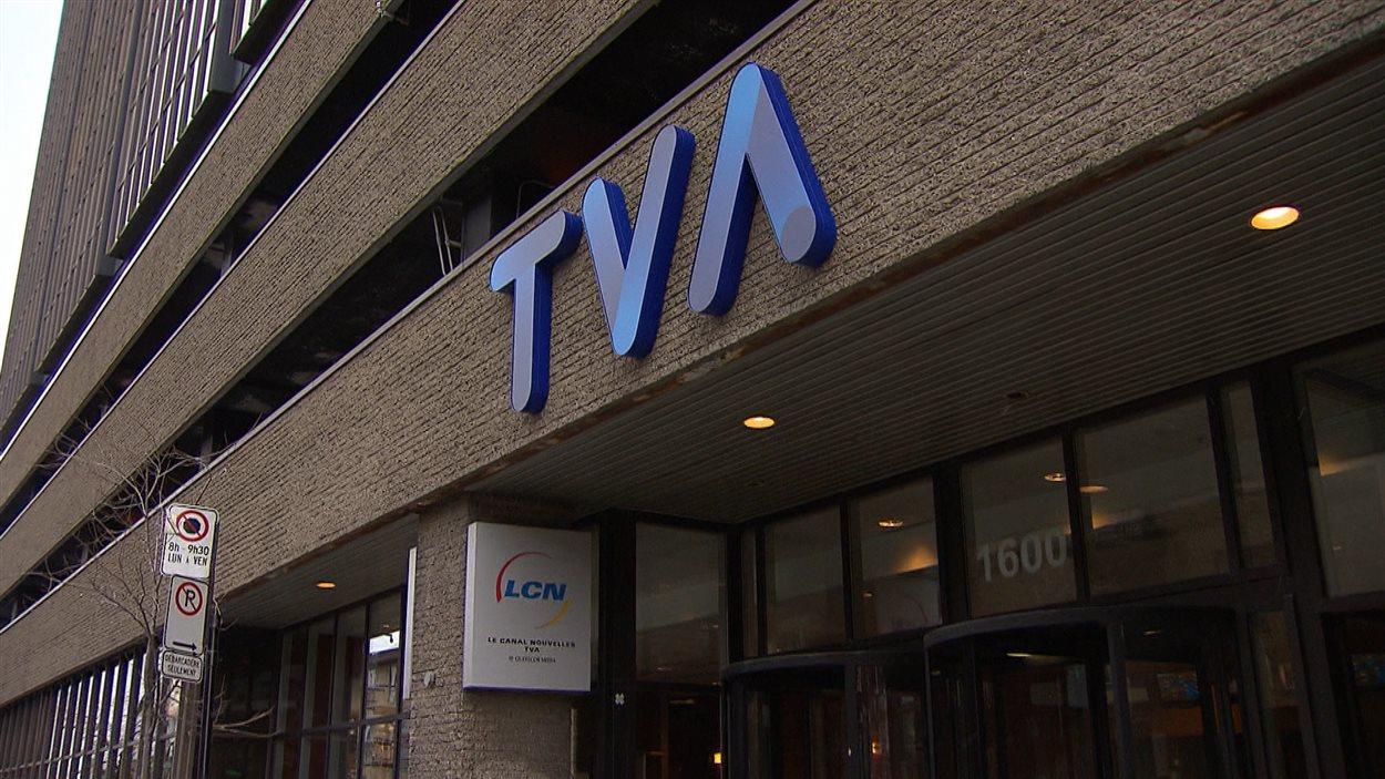 Édifice de TVA à Montréal