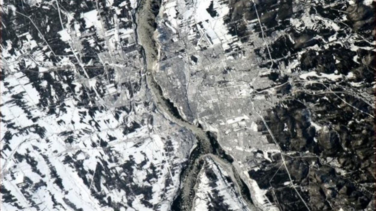 La ville de Québec, le 21 décembre 2012