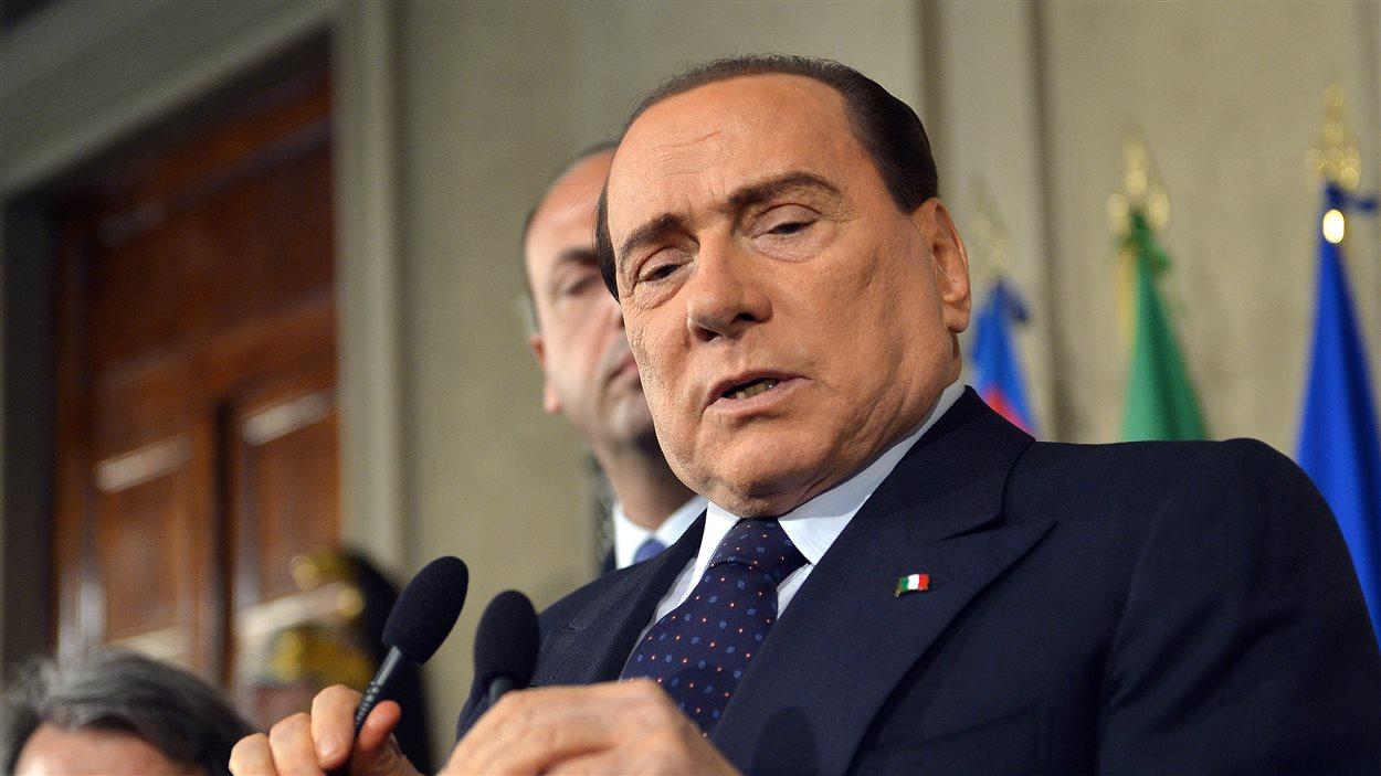 L'ex-premier ministre italien Silvio Berlusconi