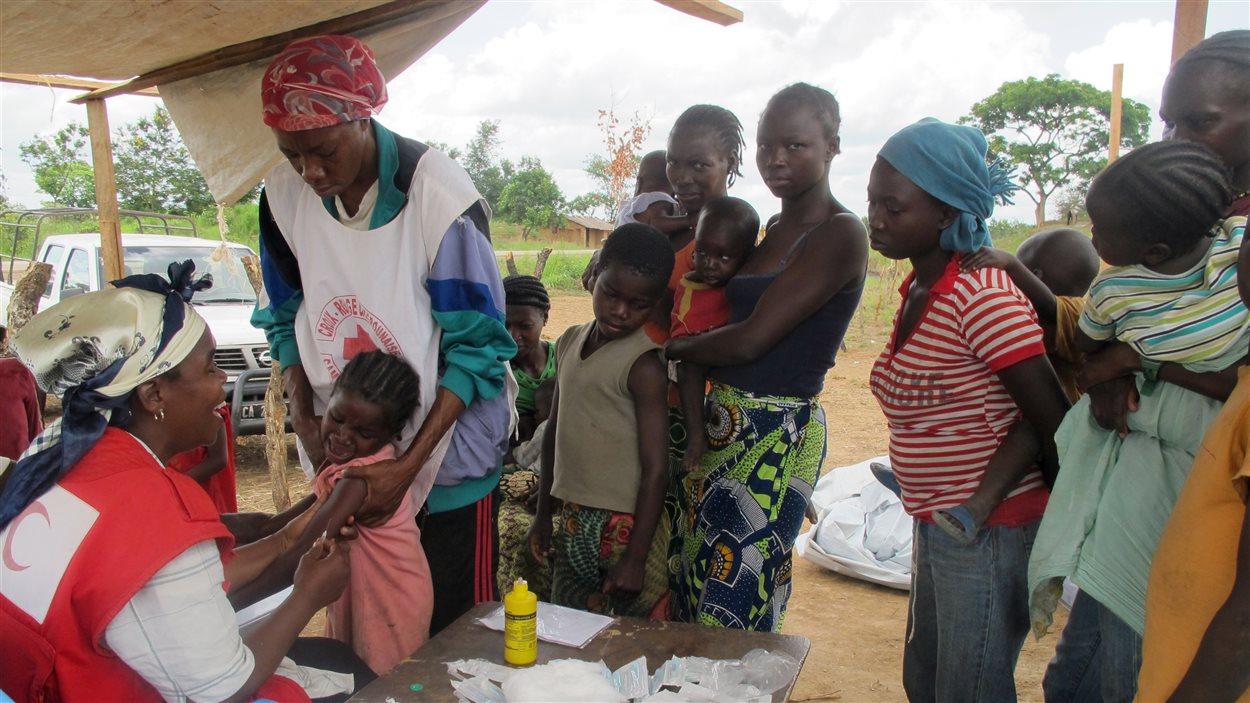 Des réfugiés centrafricains au Cameroun