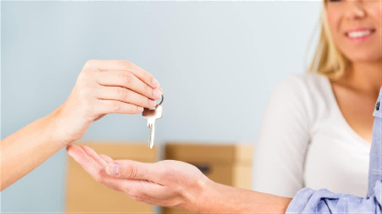 Clé pour logement après le déménagement