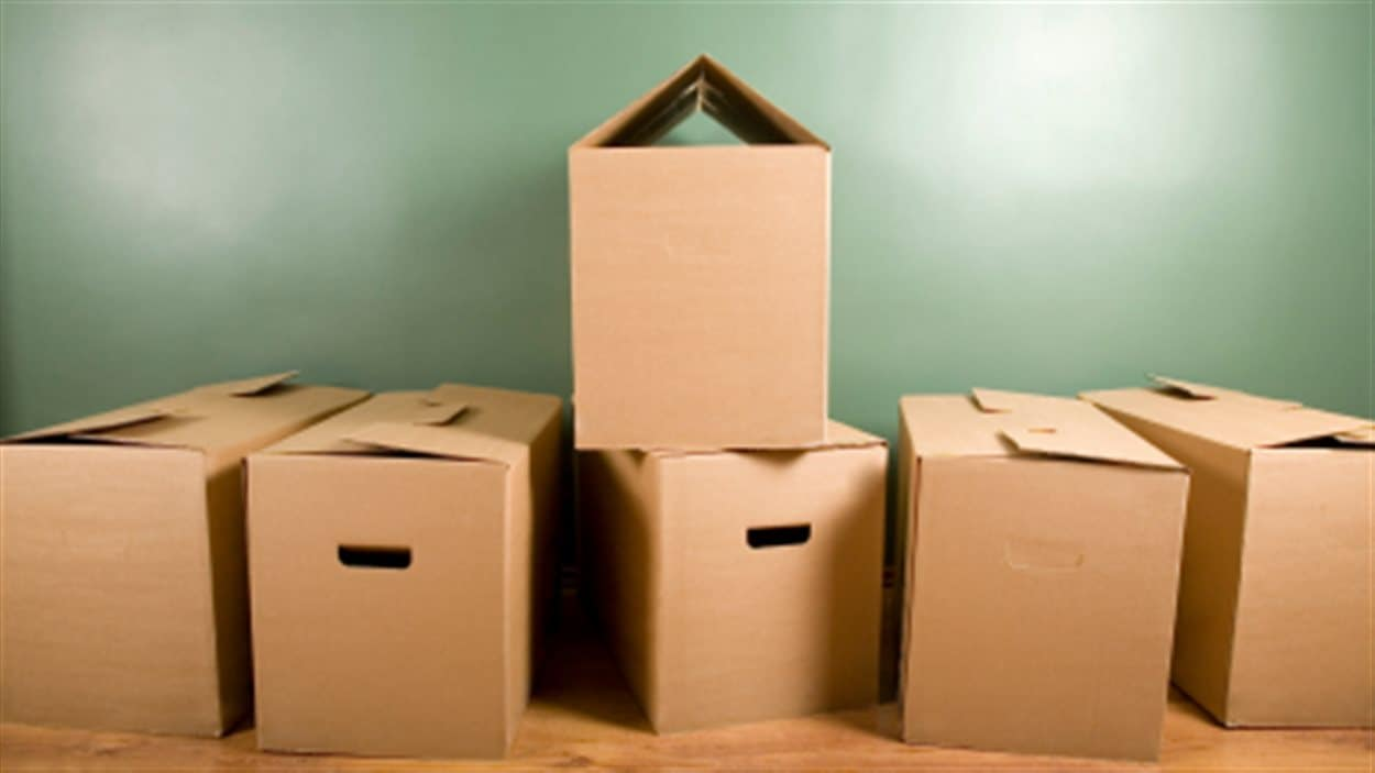 Boîtes pour le déménagement