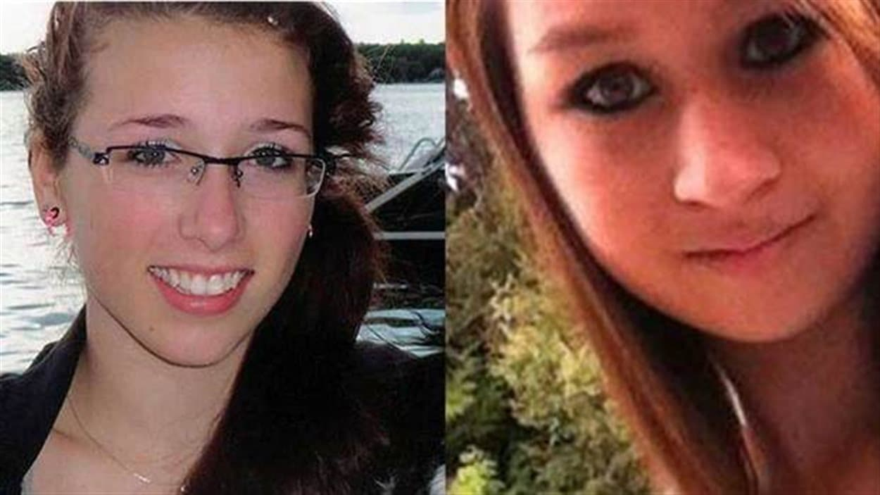 De gauche à droite, Rehtaeh Parsons, du Nouveau-Brunswick et Amanda Todd, de Colombie-Britannique, se sont toutes deux enlevé la vie suite à des cas distincts de cyberintimidation.