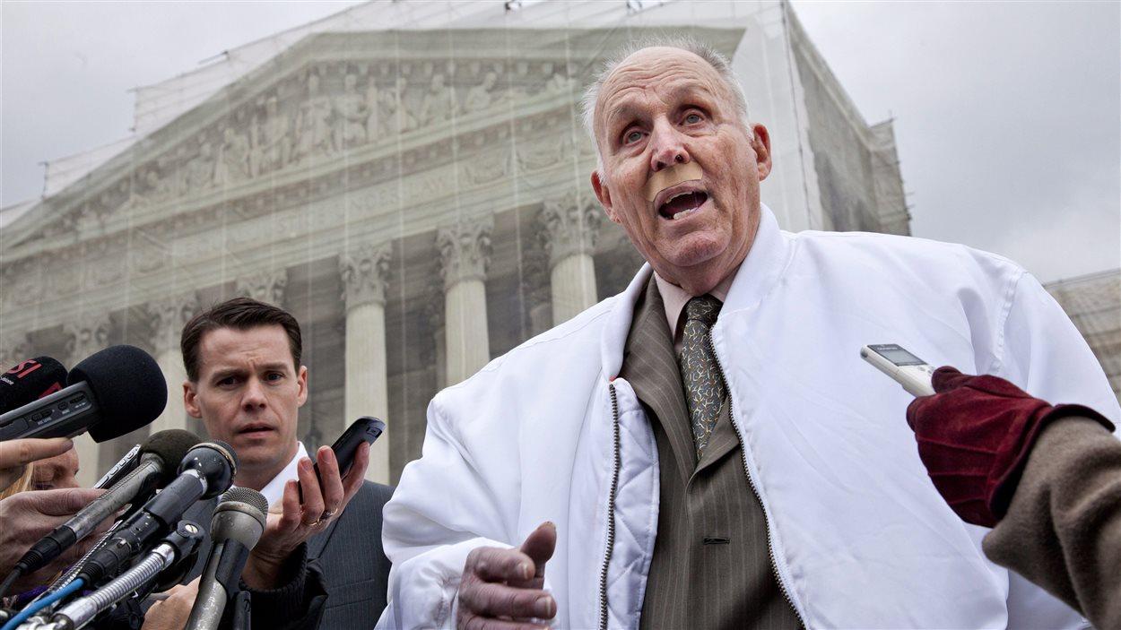 L'agriculteur de Soja Vernon Bowman devant la Cour suprême des États-Unis