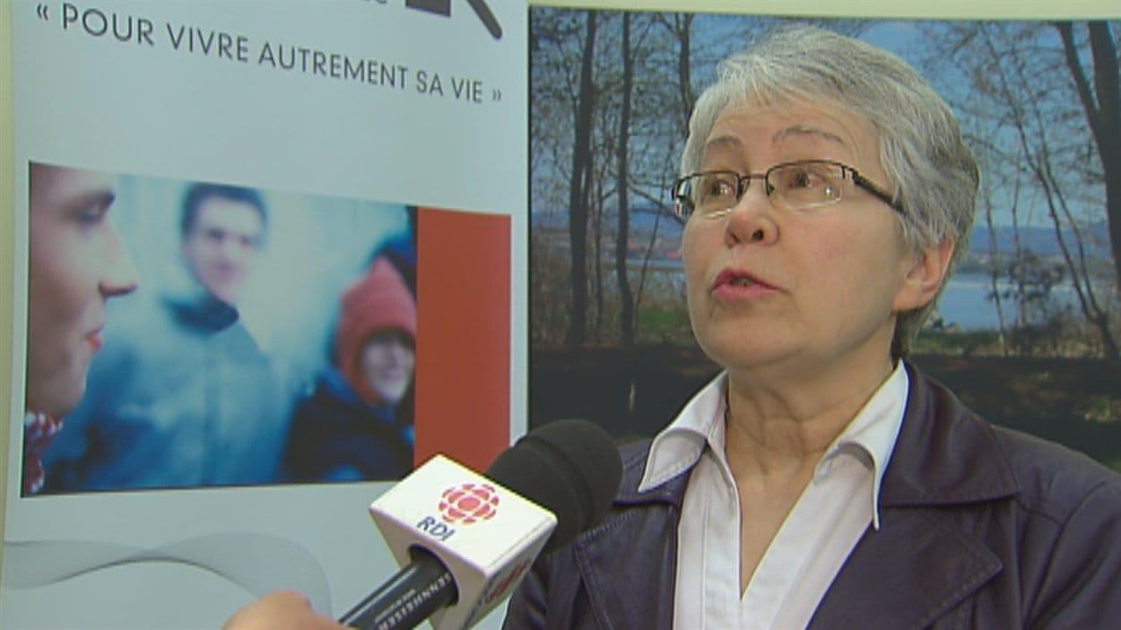 La Dre Lise Archibald, coordonnatrice au Centre de réadaptation en dépendance de Québec