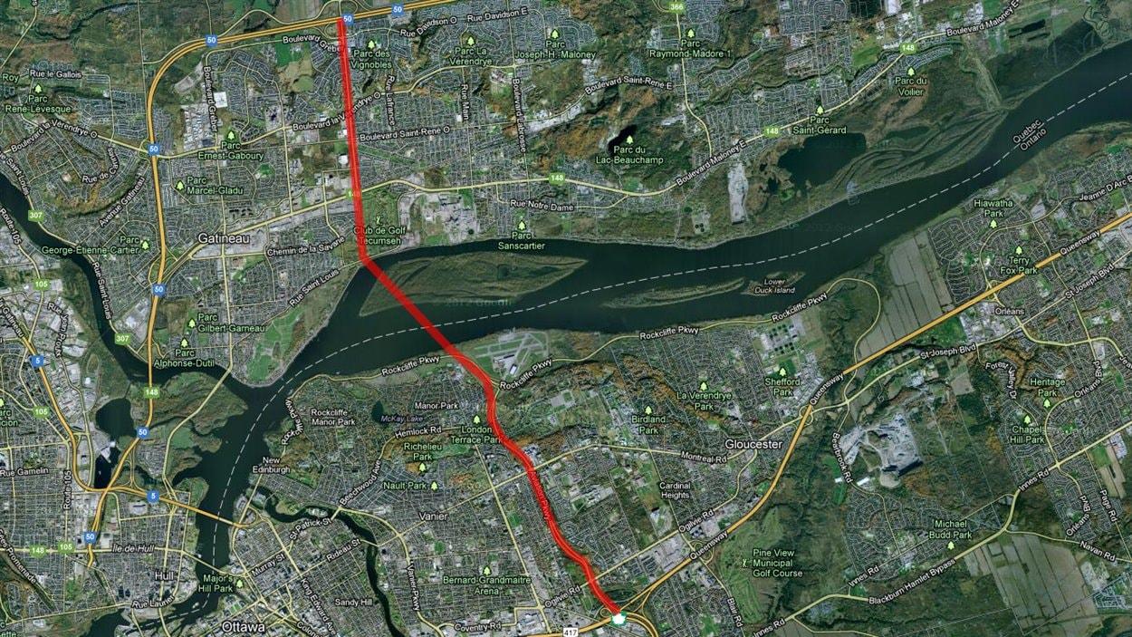 La CCN recommande le corridor de l'île Kettle pour la construction d'un nouveau pont.