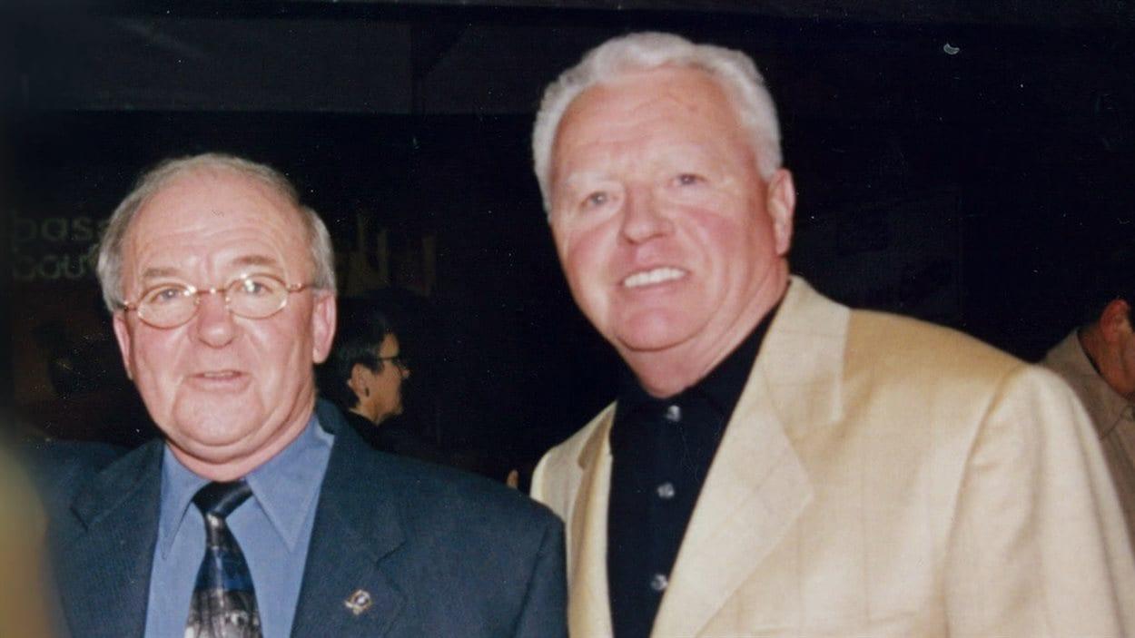 Guy Chevrette et Gilles Cloutier