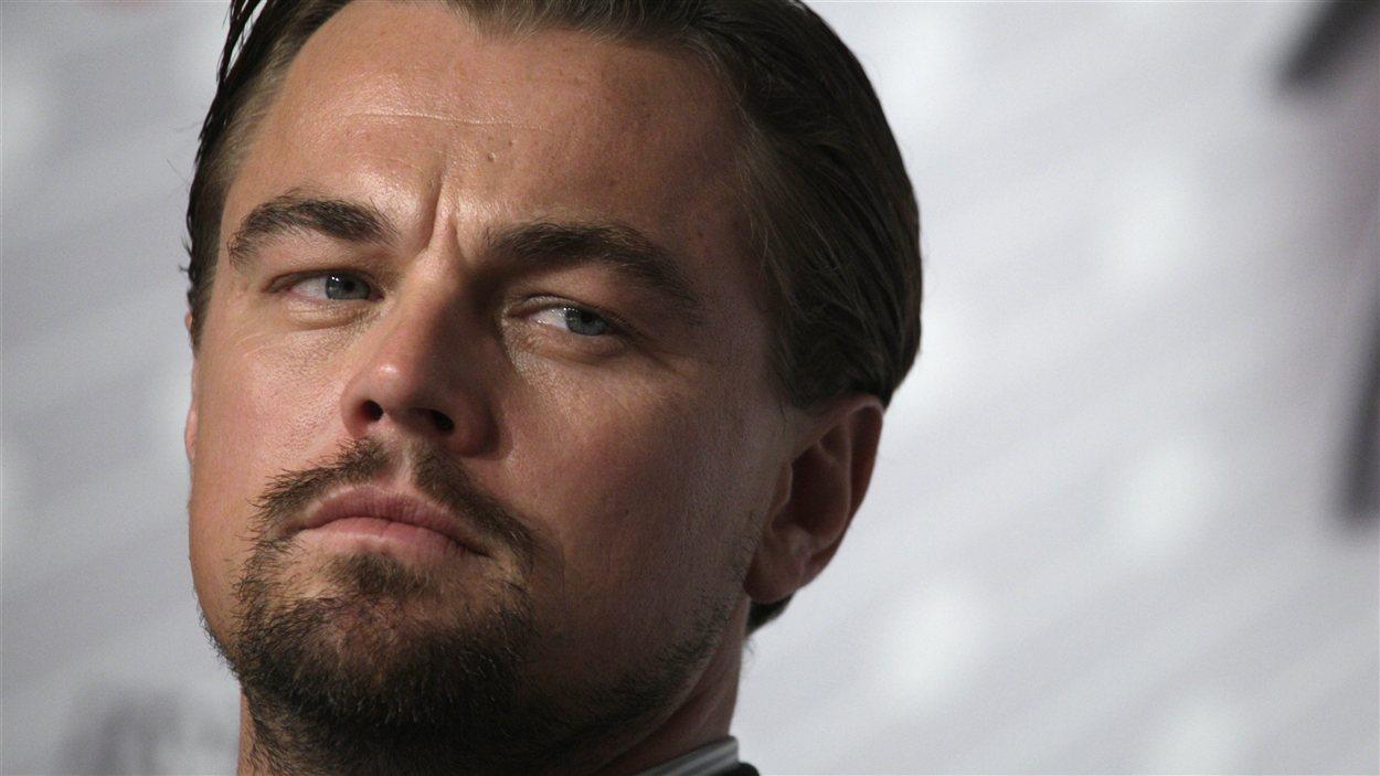 Leonardo DiCpario en conférence de presse à Cannes le 15 mai pour Gatsby le magnifique