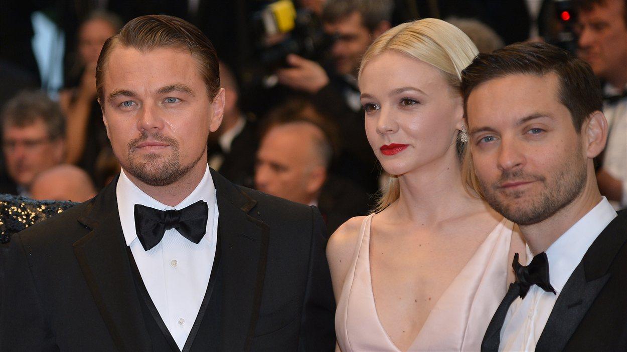Leonardo DiCaprio, Carey Mulligan et Tobey Maguire sur le tapis rouge de la première cannoise de Gatsby le magnifique