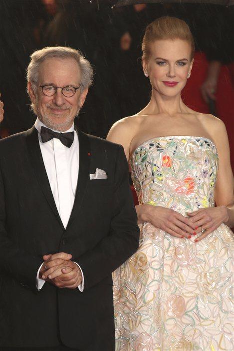 Steven Spielberg et Nicole Kidman sur le tapis rouge de la première cannoise de Gatsby le magnifique