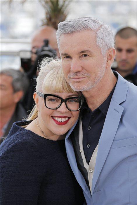 Le réalisateur Baz Luhrmann et sa femme, la designer de production Catherine Martin