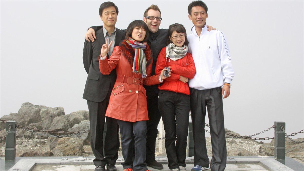 Christopher Graper en Corée du Nord