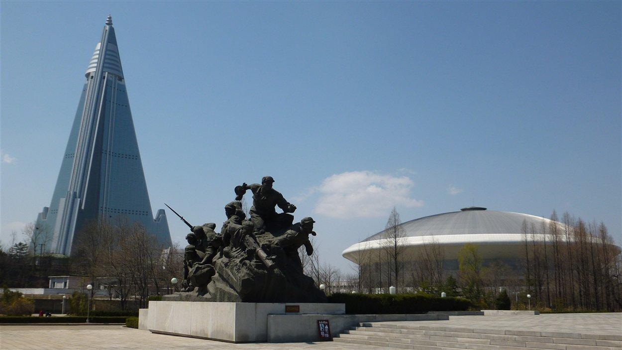 Monuments à Pyongyang