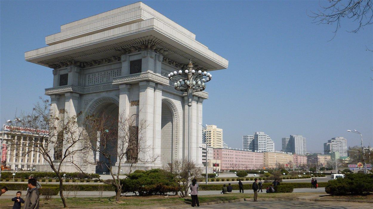 Arc de triomphe à Pyongyang