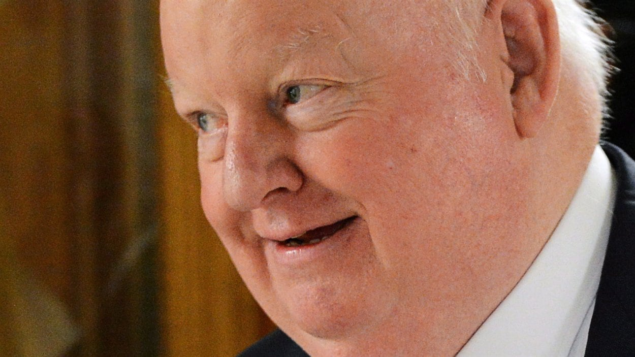 Le sénateur Mike Duffy à Ottawa