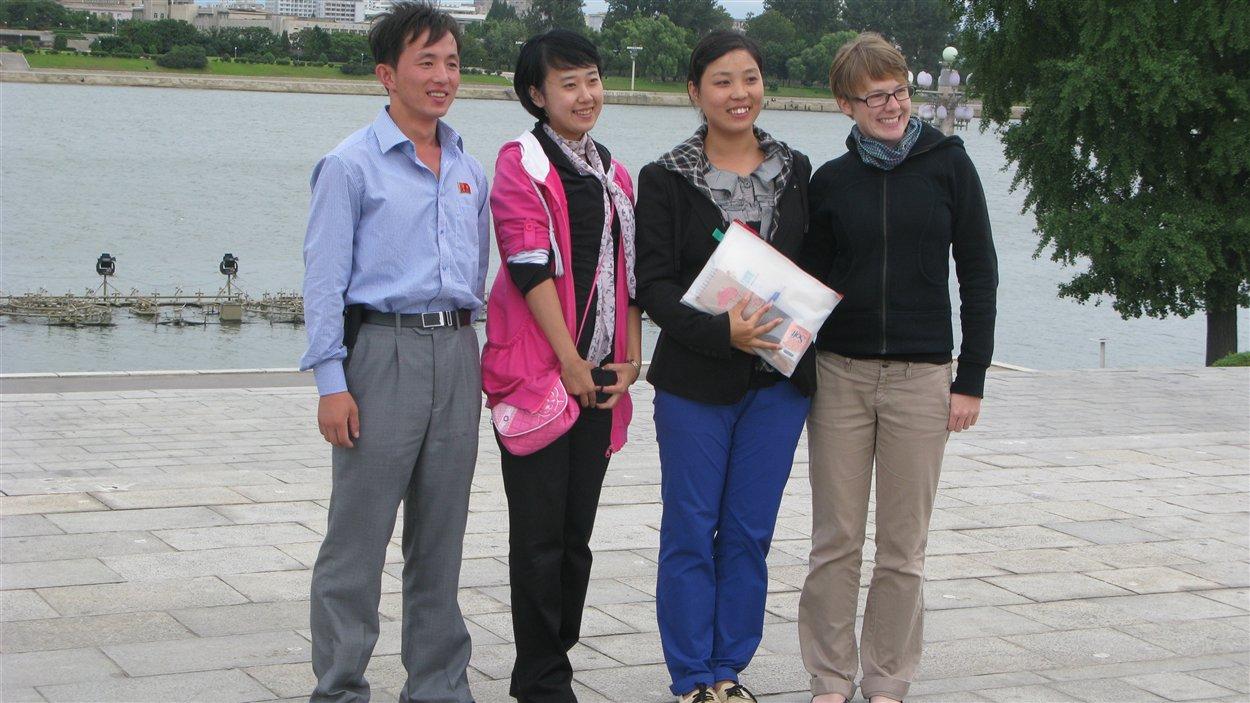 Les guides du voyage de David Edwards en Corée du Nord