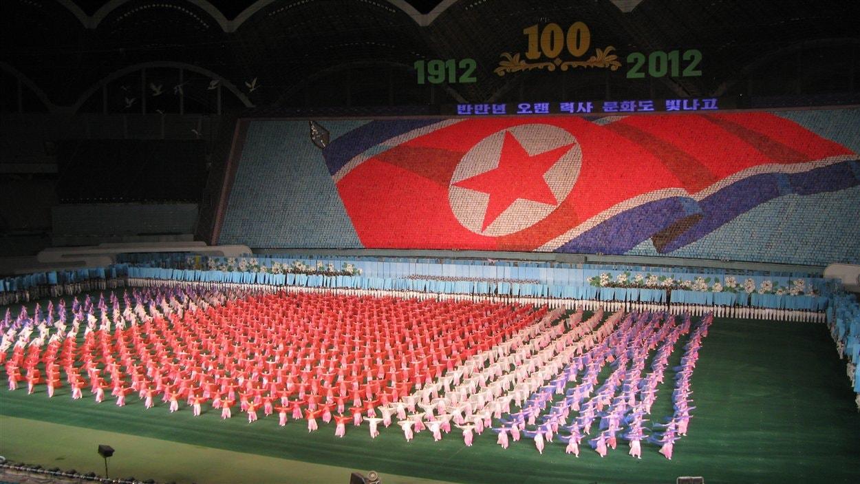 Les Jeux populaires d'Arirang à Pyongyang