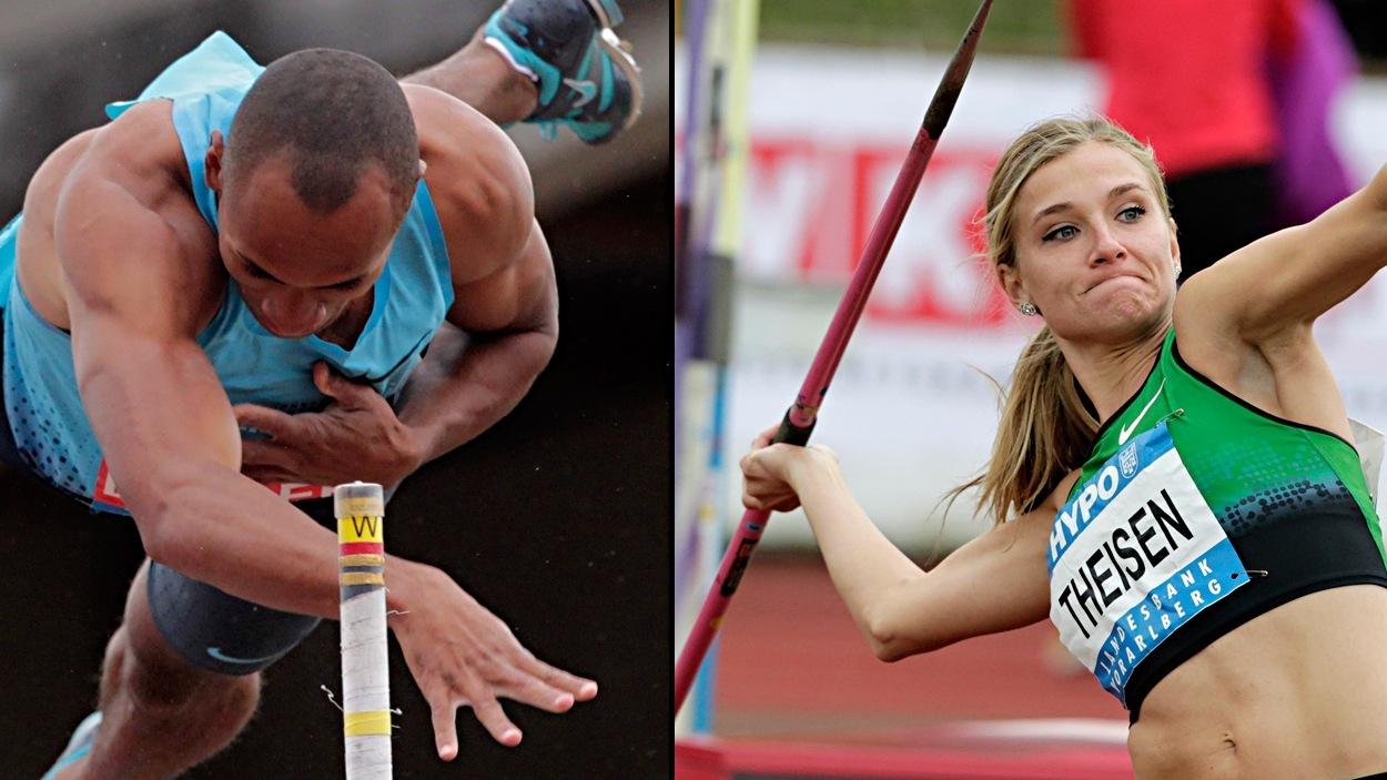 Damian Warner et Brianne Theisen