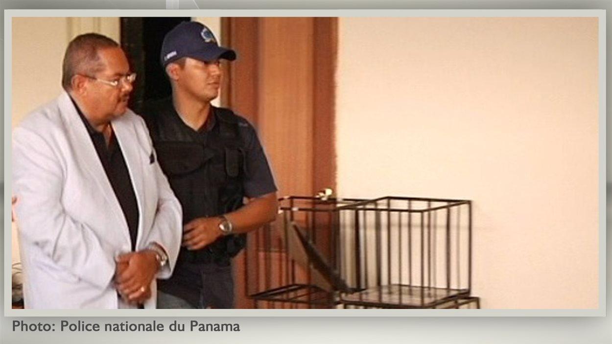 Arrestation du Dr Arthur Porter au Panama