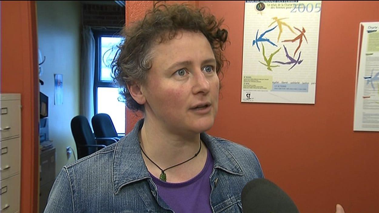 Alexa Conradi, présidente de la Fédération des femmes du Québec