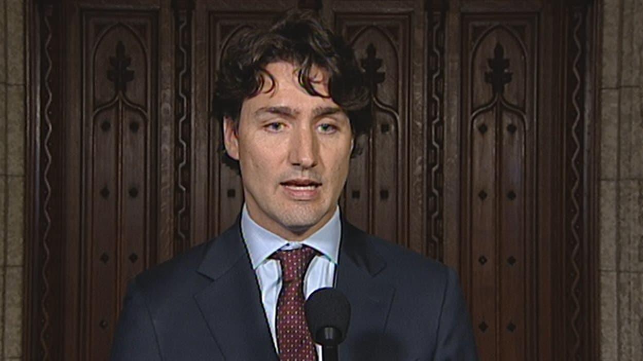 Justin Trudeau, chef du PLC