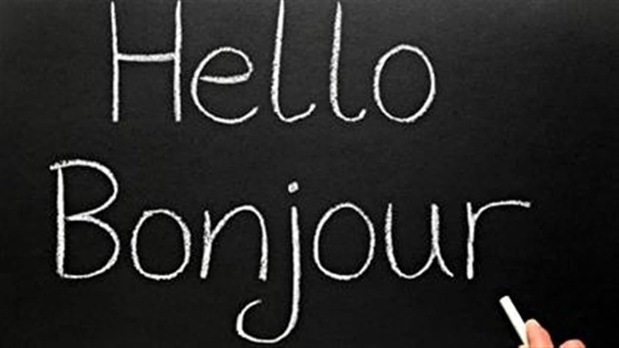 «Hello/Bonjour»