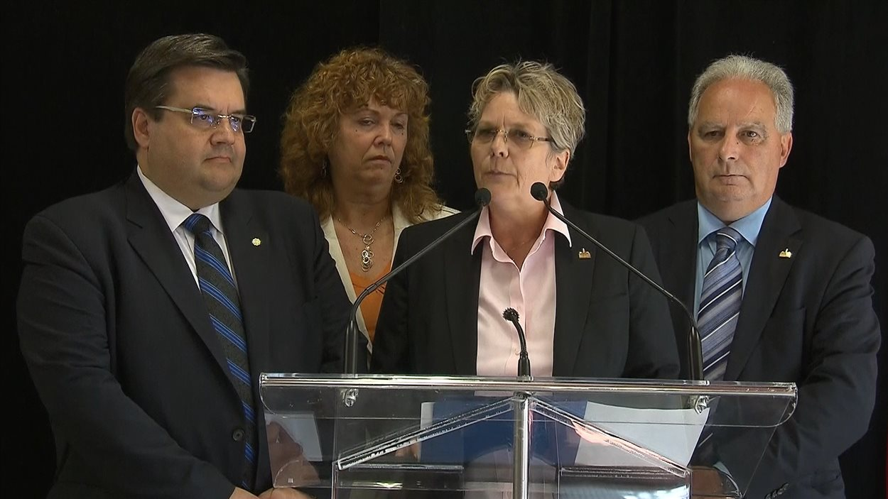 La mairesse de Rivière-des-Prairies-Pointe-aux-Trembles Chantal Rouleau se joint à l'équipe de Denis Coderre.