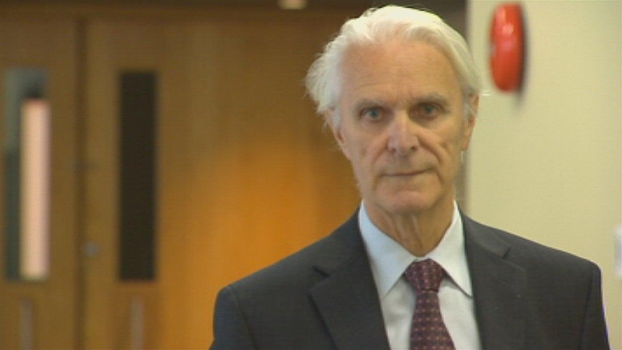 L'ex-juge Jacques Delisle