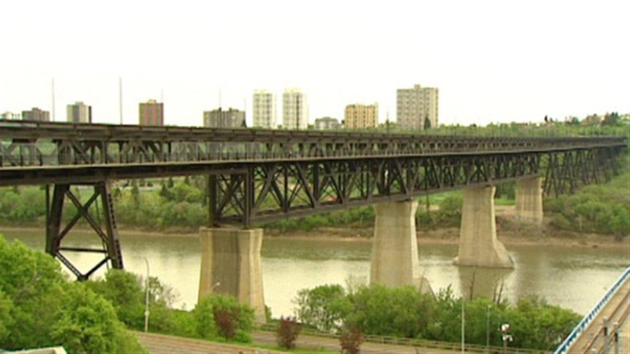 Le pont High Level à Edmonton