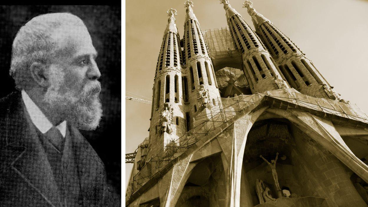 Antoni Gaudi et la Sagrada Familia | ©iStockphoto