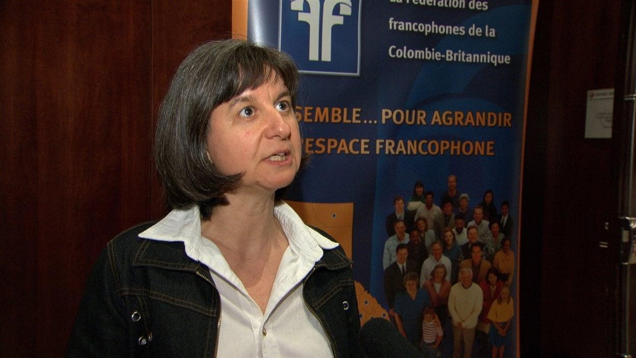 France-Emmanuelle Joly, directrice de la FFCB.