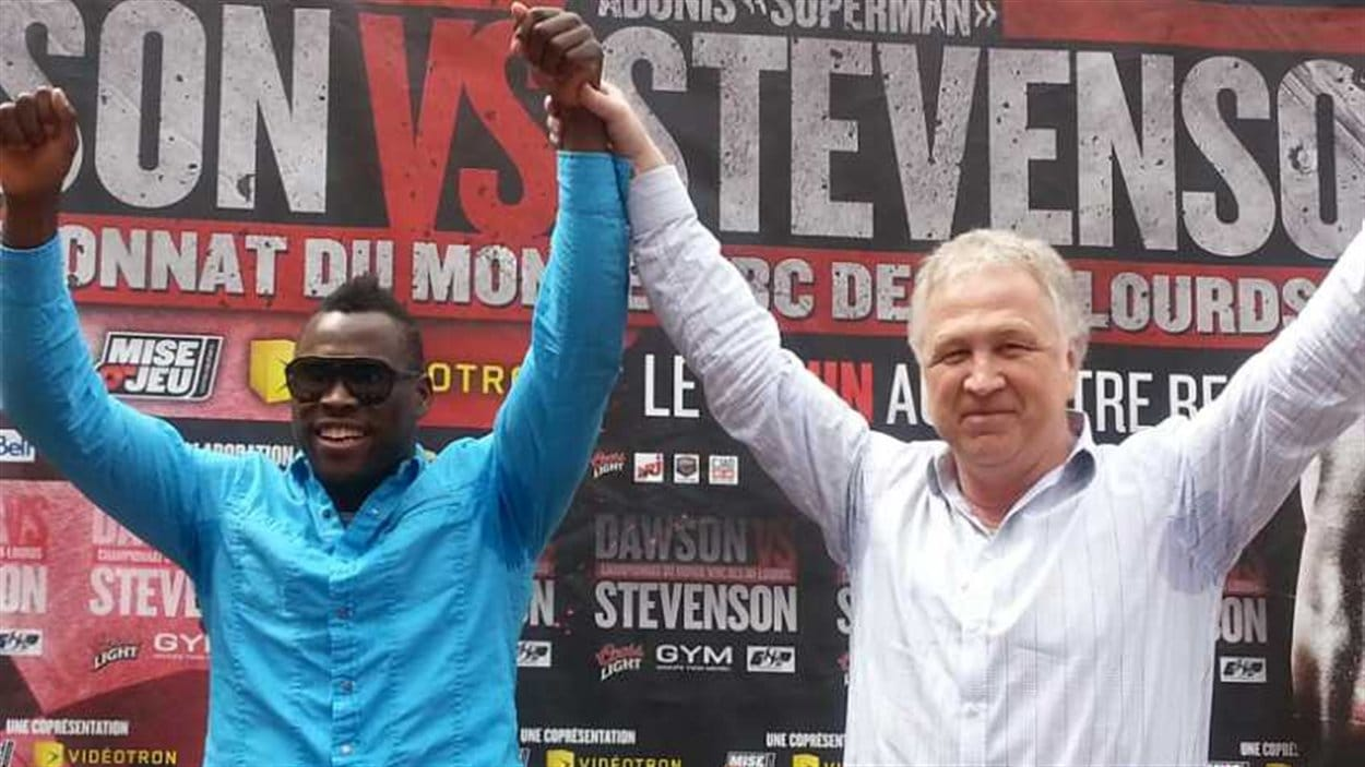 Adonis Stevenson et Yvon Michel