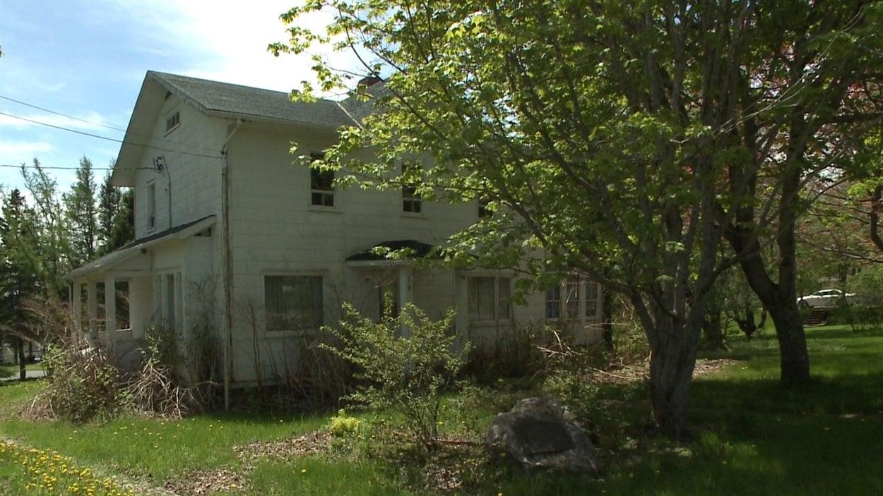 La maison d'enfance de Réné Lévesque à New Carlisle