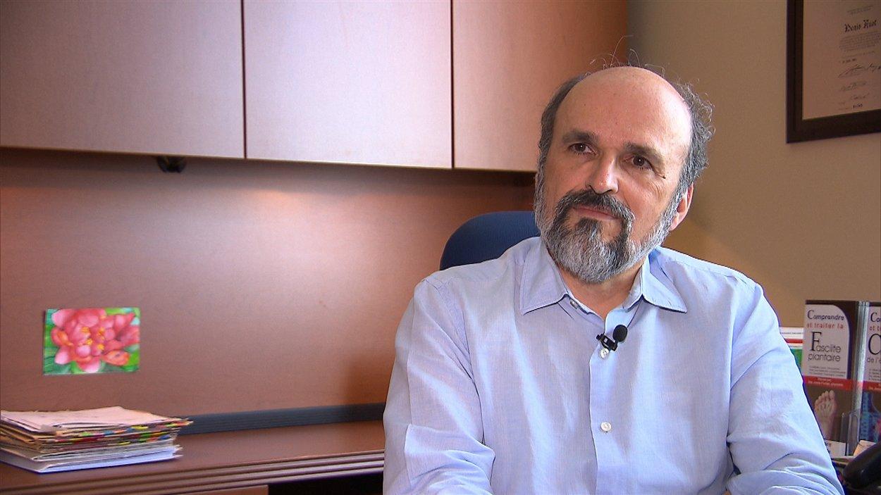Denis Huot, médecin de famille et responsable du GMF de la Clinique médicale de Shawinigan-Sud