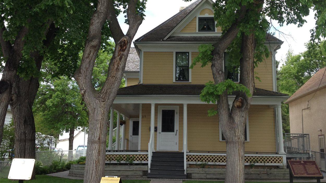 La Maison Gabrielle Roy, dans le quartier Saint-Boniface à Winnipeg, le 7 juin 2013.