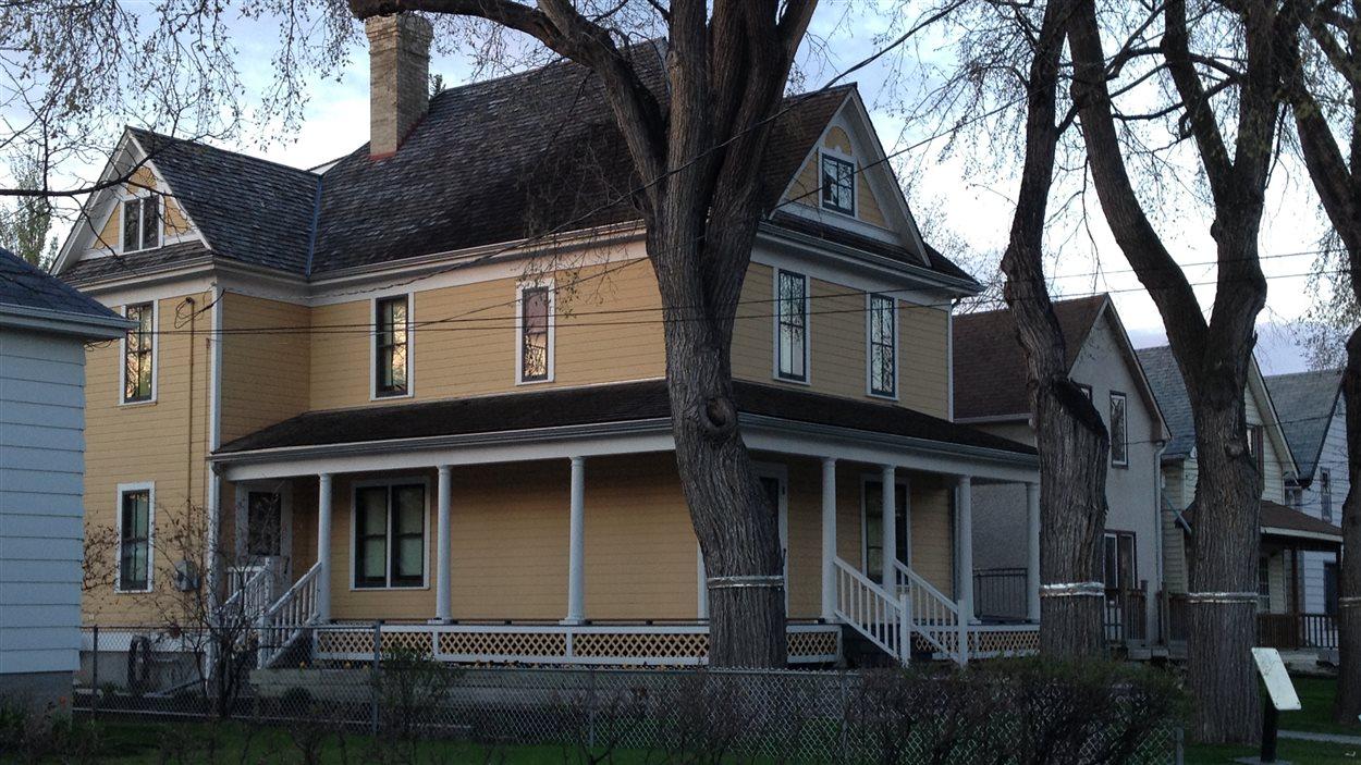 La Maison Gabrielle-Roy, vue le 16 mai 2013 dans le quartier Saint-Boniface de Winnipeg.