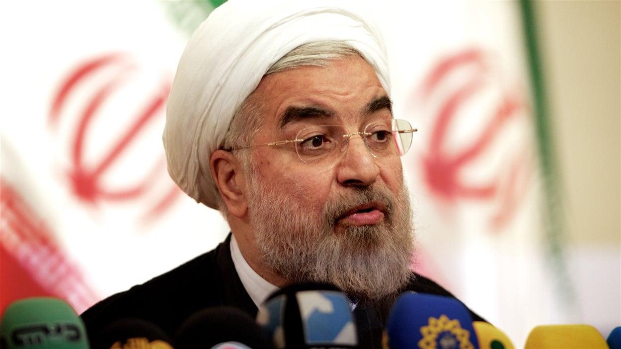 Le nouveau président iranien Hassan Rohani