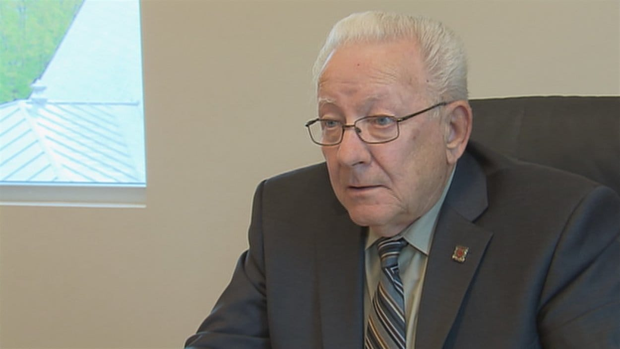 Le maire de Sainte-Brigitte-de-Laval, Gilbert Thomassin