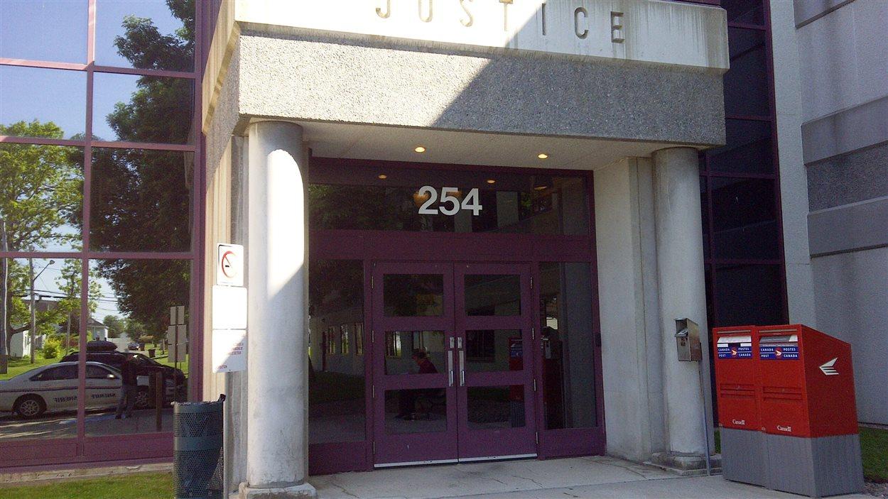 Le palais de justice Bathurst